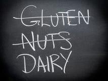 Concetto di nutrizione e di dieta Immagine Stock Libera da Diritti