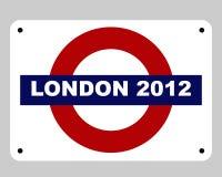 Concetto di Olimpiadi di Londra Fotografie Stock