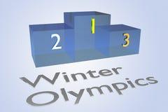 Concetto di olimpiadi invernali royalty illustrazione gratis