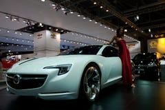 Concetto di Opel Flextreme GT fotografia stock