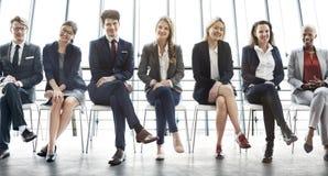 Concetto di opportunità di risultato di carriera della gestione Immagine Stock Libera da Diritti