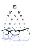Concetto di optometria Immagini Stock