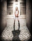 Concetto di orrore di Halloween Fotografie Stock Libere da Diritti