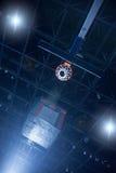 Concetto di pallacanestro Fotografia Stock