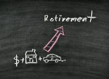 Concetto di pensionamento Immagini Stock Libere da Diritti