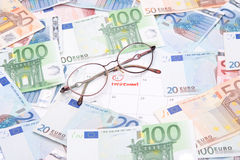 Concetto di pensione Fotografie Stock Libere da Diritti