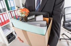Concetto di perdita del posto di lavoro Immagine Stock Libera da Diritti