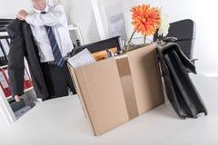 Concetto di perdita del posto di lavoro Fotografie Stock