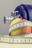 Concetto di perdita di peso Immagini Stock Libere da Diritti