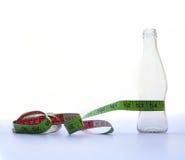 Concetto di perdita di peso e stare Fotografie Stock Libere da Diritti