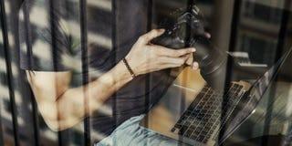 Concetto di Photograph Photo Photography del fotografo Fotografie Stock Libere da Diritti
