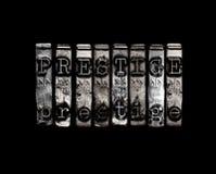 Concetto di Prestige Fotografia Stock