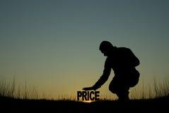 Concetto di prezzi bassi Fotografia Stock