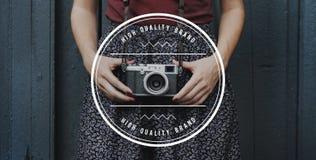 Concetto di prodotto di pubblicità di Copyright di marca di alta qualità Fotografie Stock