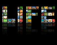 Concetto di produzione della televisione fotografia stock libera da diritti