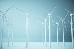 Concetto di produzione di elettricità Immagine Stock