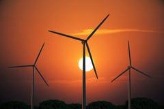 Concetto di produzione di energia Immagini Stock Libere da Diritti