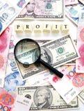 Concetto di profitto Immagine Stock Libera da Diritti