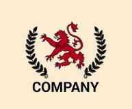 Concetto di progetto di logo di Leon 2 Fotografia Stock