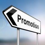 Concetto di promozione di job. Fotografie Stock Libere da Diritti