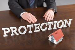 Concetto di protezione Fotografia Stock Libera da Diritti