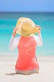 Concetto di protezione di Sun Fotografie Stock Libere da Diritti