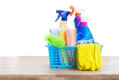Concetto di pulizie di primavera Immagine Stock Libera da Diritti