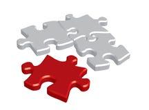 Concetto di puzzle Immagine Stock Libera da Diritti