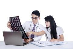 Concetto 1 di radiologia e medico Fotografie Stock Libere da Diritti