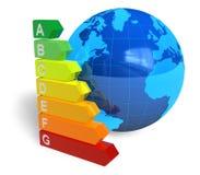 Concetto di rendimento energetico Fotografie Stock Libere da Diritti
