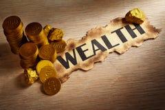 Concetto di ricchezza Immagini Stock