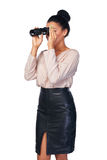 Concetto di ricerca di affari Fotografia Stock