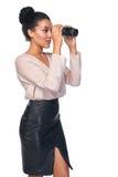 Concetto di ricerca di affari Fotografia Stock Libera da Diritti