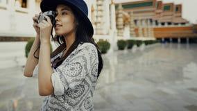 Concetto di ricreazione di hobby di Travel Sightseeing Wander del fotografo immagini stock libere da diritti