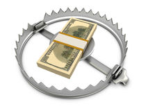 Concetto di rischio di finanze Immagini Stock