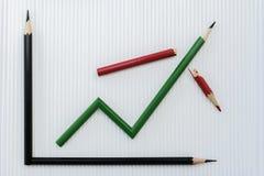 Concetto di riserva del mercato di successo Fotografie Stock