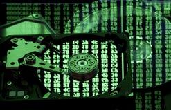Concetto di riserva e di restore di memoria di dati, Fotografia Stock Libera da Diritti
