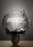 Concetto di risparmio Immagine Stock Libera da Diritti