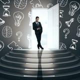 Concetto di risultato e della soluzione Immagine Stock