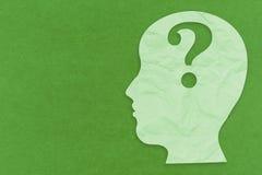 Concetto di salute mentale immagini stock libere da diritti