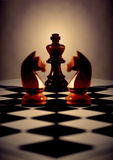 Concetto di scacchi Immagine Stock Libera da Diritti