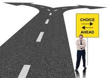 Concetto di scelta di affari Immagine Stock Libera da Diritti