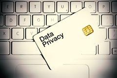 Concetto di segretezza di dati Fotografie Stock