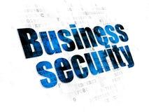 Concetto di segretezza: Sicurezza di affari su Digital Fotografie Stock Libere da Diritti