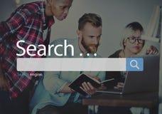 Concetto di Seo Online Internet Browsing Web di ricerca immagini stock