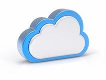 Concetto di servizio della nube Fotografie Stock