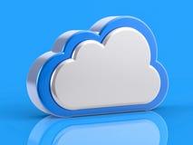 Concetto di servizio della nube Immagini Stock