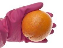 Concetto di sicurezza alimentare Fotografia Stock