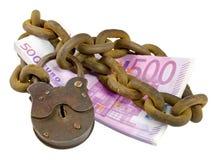 Concetto di sicurezza dei soldi Fotografia Stock Libera da Diritti
