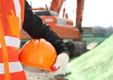 Concetto di sicurezza di costruzione Fotografie Stock Libere da Diritti